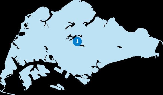 シンガポール:マップ