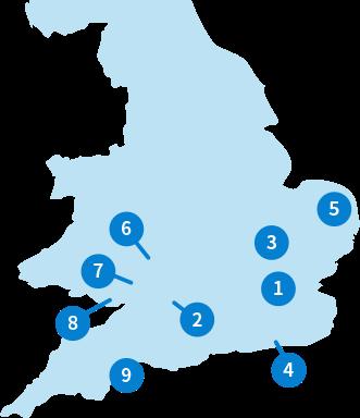 イギリス:マップ