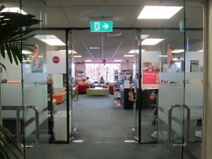 Embassyの図書館入口(4階・Taylor'sとシェア)5
