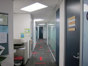 Embassyの廊下(6階)
