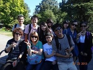 英語を学ぶには素晴らしい環境でした