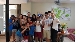 日本人が少なく、英語の勉強に集中できた。